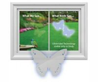 Window Alert Decal Static Cling Butterfly, 4 Per Package Protect Birds, Made Usa