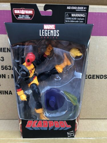 Marvel Legends Deadpool Wave 2 MAD JACK figure with Sauron BAF In STOCK