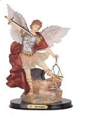 "12"" Inch Archangel Michael Statue Figurine Figure Religious San Saint Angel"