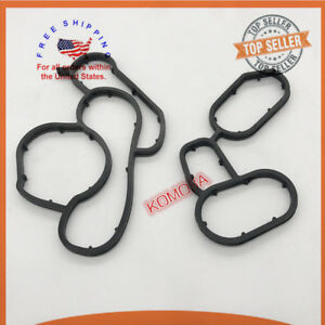 11427508971 NEW For BMW Engine Oil Cooler Filter Housing stand Gasket Seal 11427508970