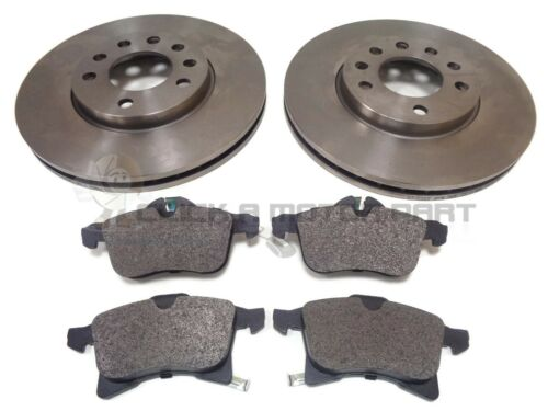 VAUXHALL ZAFIRA MK2 1.8 16V SRi FRONT 2 BRAKE DISCS AND PADS SET NEW
