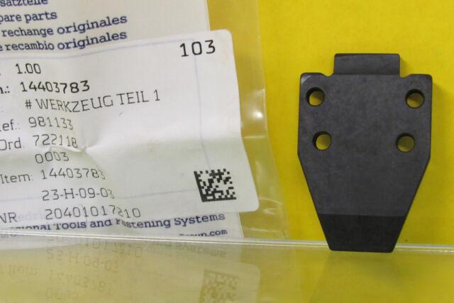 BEA Driver Blade for 90//38 Stapler Repair Part # 2015001821 NEW in STOCK 6FBP