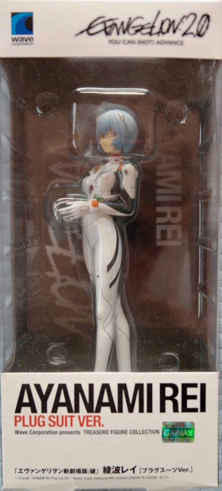 Rei Ayanami Plug Suit Ver. (Evangelion 2.0)   Wave Corp   Mint   Factory Sealed