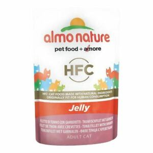 2x Almo Nature Cat Pouch HFC in Jelly Tuna and Shrimps 24 x 55g ie3AWfFY-07224619-620789138