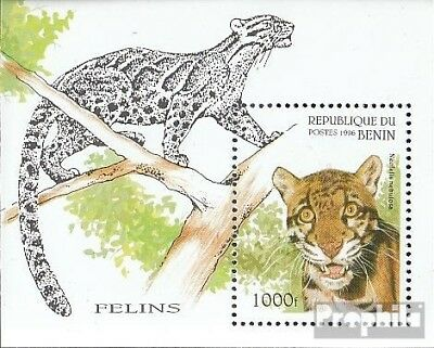 Animal Kingdom Benin Block19 Unmounted Mint Never Hinged 1996 Wildcats Suitable For Men And Women Of All Ages In All Seasons Stamps
