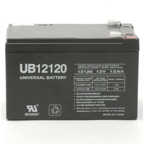 UPG 12V 12AH Replacement Battery for SEA-DOO SEA SCOOTER 12V 1Amp Charger