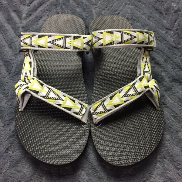 498ce26bc77e Teva Original Universal Slide Sz 12 Flip Flop Sandal Mosaic Gray Men New  1010171