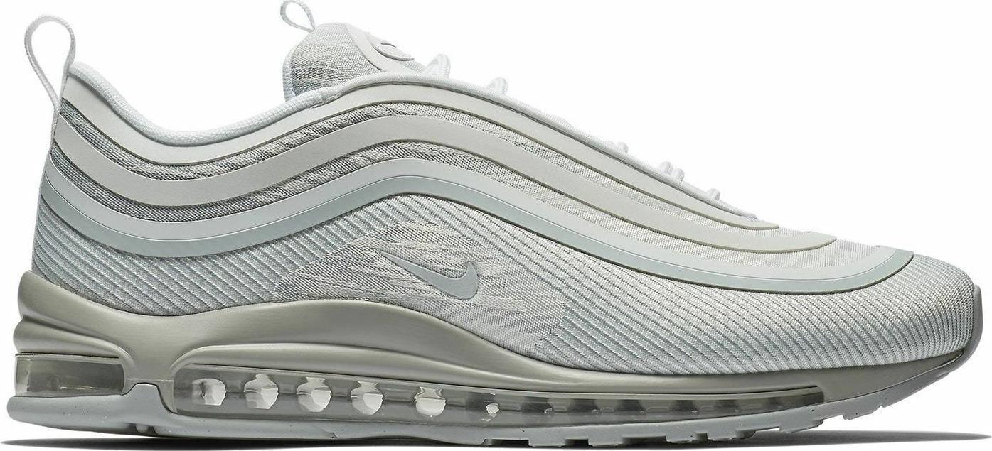 NIKE Air Max 97 UL 1997 NUOVO bianca grigio gr 44 us 10 90 95 97 918356 -008 scarpe da ginnastica
