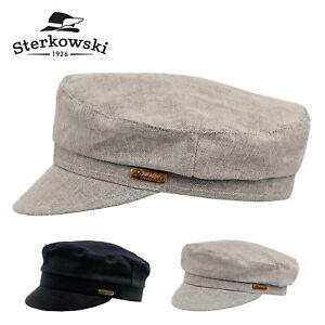 Sterkowski MACIEJOWKA MODEL 9 Leather Fiddler Cap Breton Jewish Fisherman