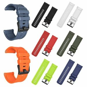 Soft-Silicone-Strap-Replacement-Watch-Band-For-Garmin-Fenix2-3-HR-5X-Watch-26mm