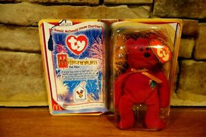 Ronald-McDonald-House-Charities-Millennium-The-Bear-Rare-NIB-Ty-Beanie-Baby