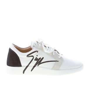 hell im Glanz modische Muster günstigster Preis Details zu GIUSEPPE ZANOTTI DESIGN damen schuhe shoes Singleg weiß leder  sneaker logo