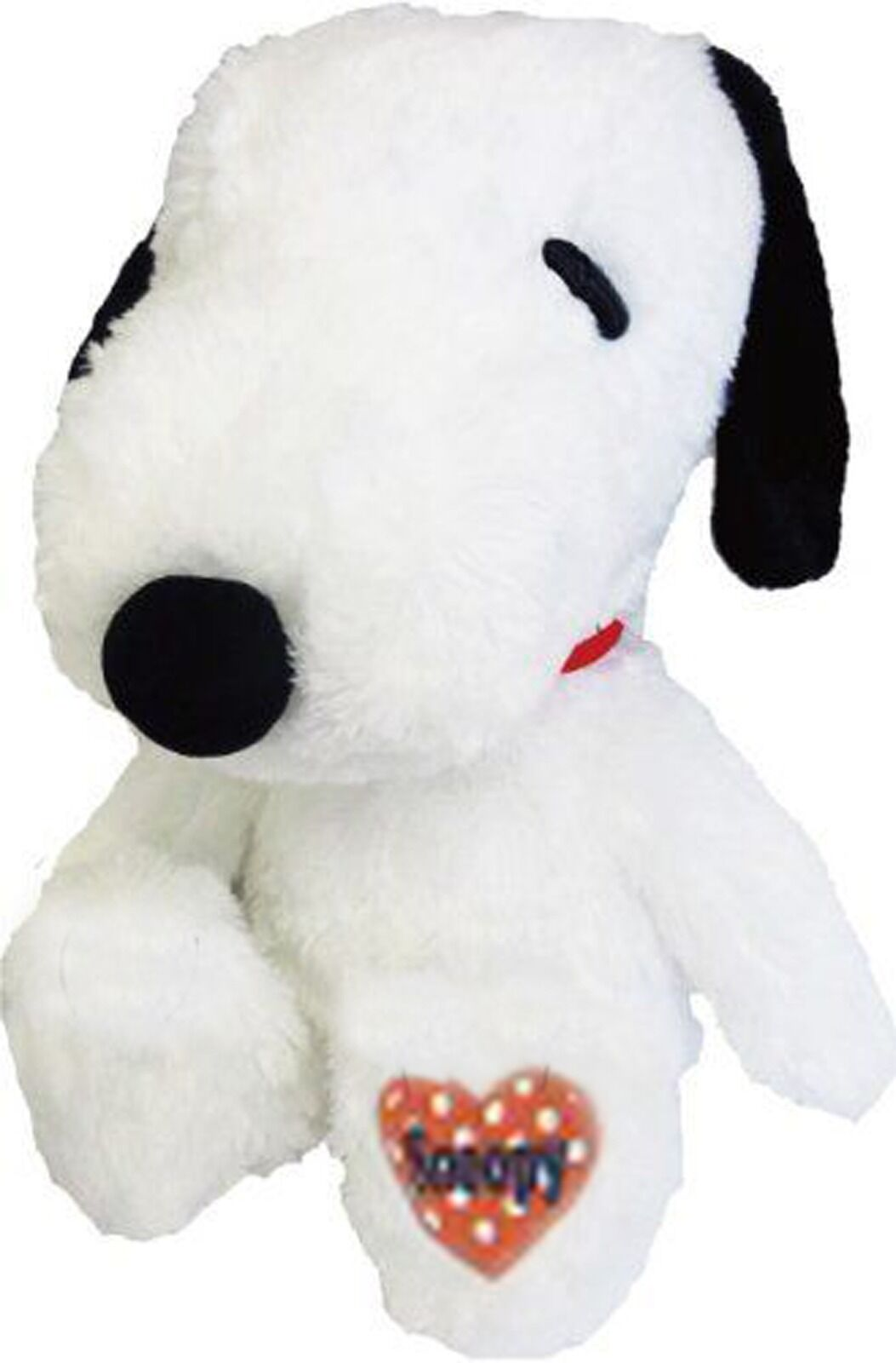 SNOOPY PLUSH - LARGE - JAPAN IMPORT - STUFFED ANIMAL DOLL - NEW