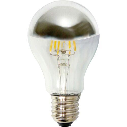 LAMPADA PER FLOS ARCO FILOLED  LED 6W 230V E27 2700°K 500lm CUPOLA ARGENTATA