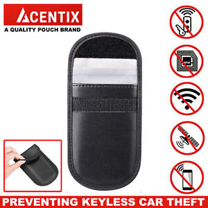 Details about Car Keyless Key Entry Fob Guard Signal Blocker Shielding Bag  Theft Prevention RF