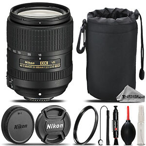 Nikon-AF-S-DX-NIKKOR-18-300mm-f-3-5-VR-Lens-Lens-Hood-U-V-Filter-Saving-Kit