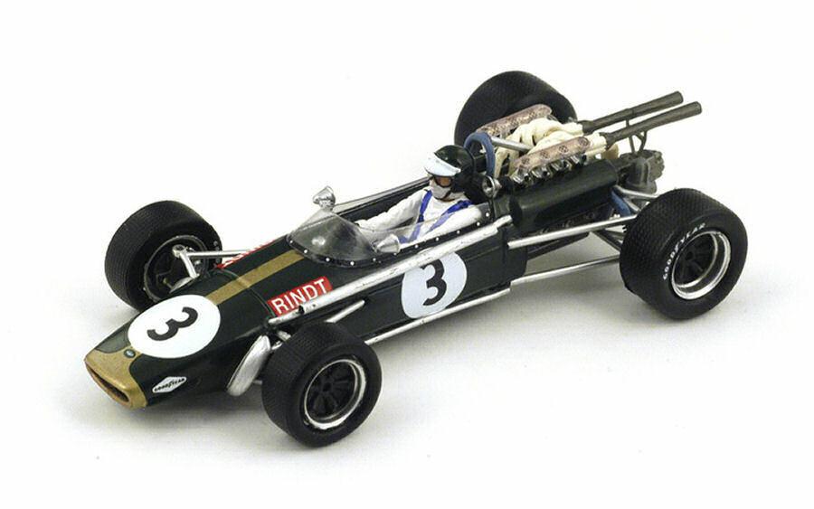 Brabham Bt24  J. Rindt 1968  3 3rd South African GP 1 43 Model S4337 Spark Model  économiser sur le dédouanement