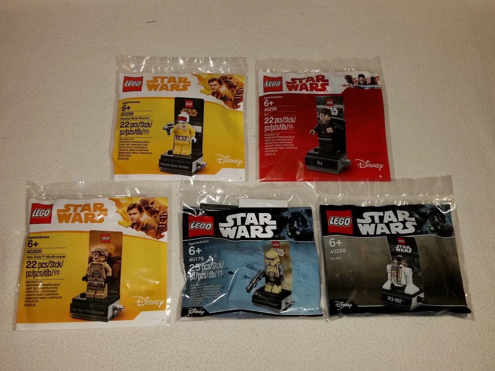 Lego Star Wars Sacchetto Plastica Set 40176 - 40268 - 40298 - 40299 - 40300 -