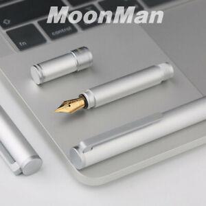 Moonman N1 Aluminum Alloy Mini Short Pocket Fountain Pen Extra Fine Nib F//EF New