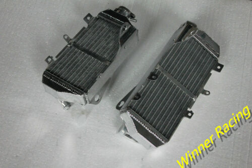 Left/&Right side aluminum radiator FOR Honda CRF450R//CRF 450 R 2017-2018 17 18