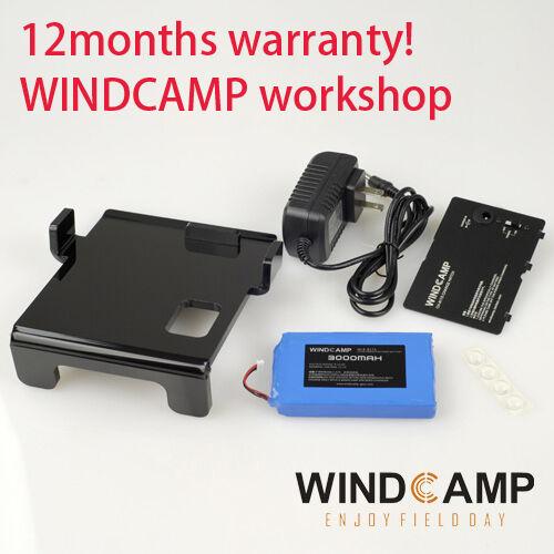 WINDCAMP WLB-817S LIPO 3000mAh battery (for yaesu FT-817 FT-818) + hatch + stand