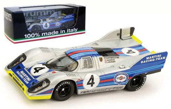 Brumm r252b Porsche 917k salía Monza 1971-marko van Lennep 1 43 Escala