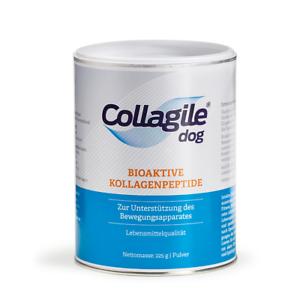 Collagile-dog-225g-fuer-Hunde-bei-Arthrose-Gelenke-Energie-Futter-Futterzusatz