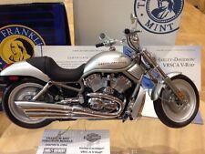 Franklin Mint 1:10 Harley Davidson V-Rod VRSCA Modelo Motocicleta muscular
