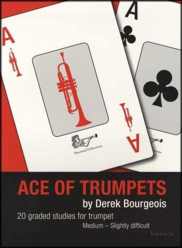 Ace of Trumpets Sheet Music Book 20 Graded Studies by Derek Bourgeois