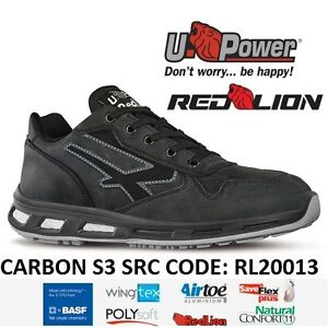 UPOWER SCARPE LAVORO ANTINFORTUNISTICA CARBON S3 SRC U-POWER RL20013 ... bb9ce683956