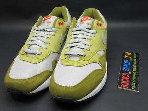 17292f690df64c 2018 ATMOS NIKE AIR MAX 1 PREMIUM RETRO OLIVE GREEN CURRY RUNNING ...