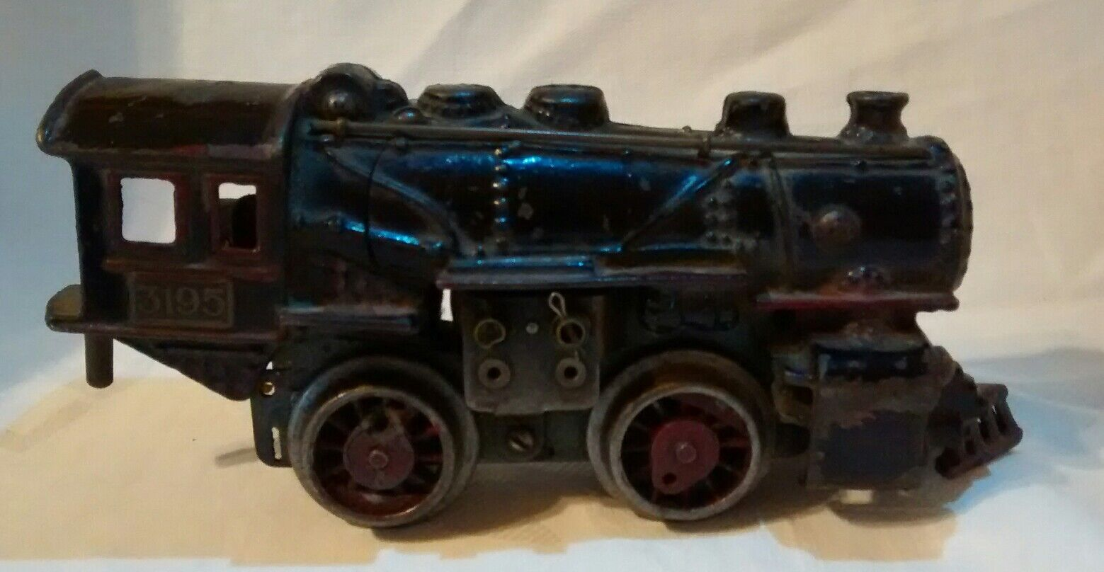 O AMERICAN FLYER PRE-WAR 3195 STEAM LOCOMOTIVE - CAST IRON IRON IRON BOILER  Parts Repair e0ea96