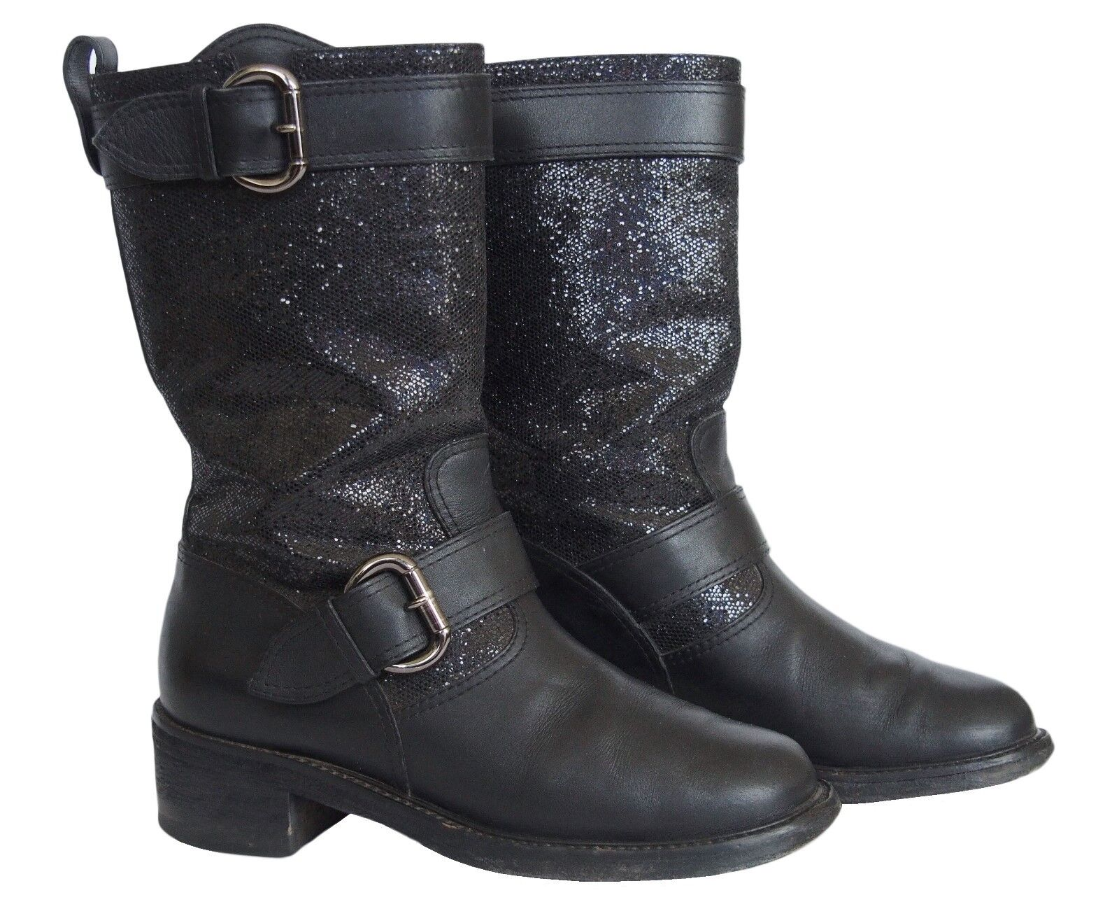 GIUSEPPE ZANOTTI ZANOTTI ZANOTTI  Boots Leather Black Size 36.5 US 6.5 c46a9e