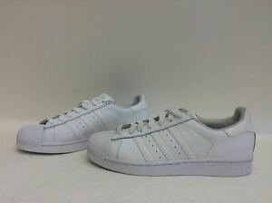 NIB hombre  tamaño 8 Adidas Superstar Foundation zapatilla blanco b27136 eBay