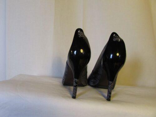 Et Plastique Noir 37 Nude Imitation Escarpins Violine Cuir Python United wqfY1np0v