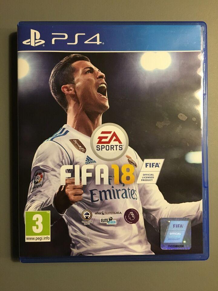 FIFA 18, PS4, sport