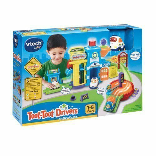 Vtech Baby Toot Toot Drivers Police Station Brand New Boxed