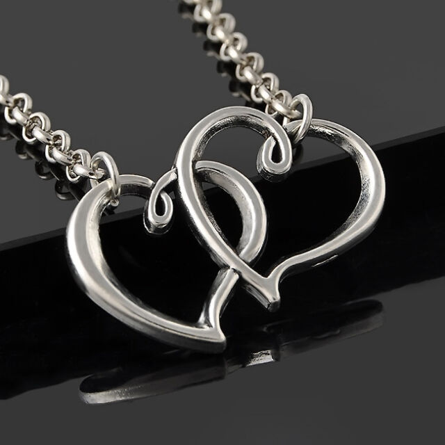 Fashion Double Heart Foot Jewelry Chain Beach Sexy Anklet Silver Bracelet EY474