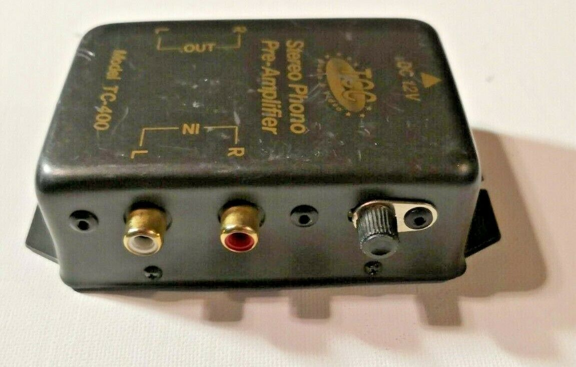 Tcc Tc 400 Audio Stereo Phono Pre Amplifier For Sale Online Ebay