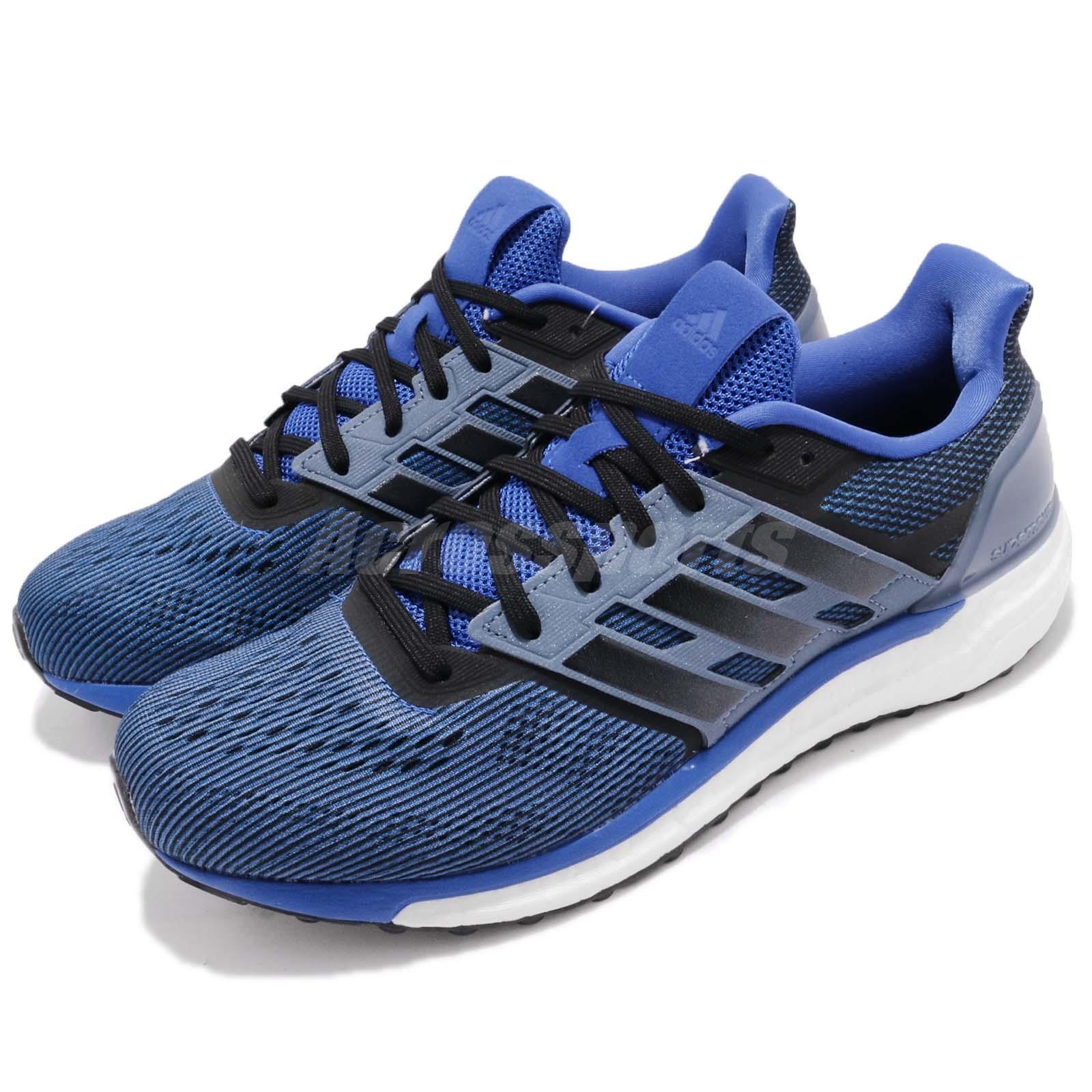 adidas Supernova M Hi-Res Bleu Noir Steel Homme Running Chaussures Sneakers CG4020