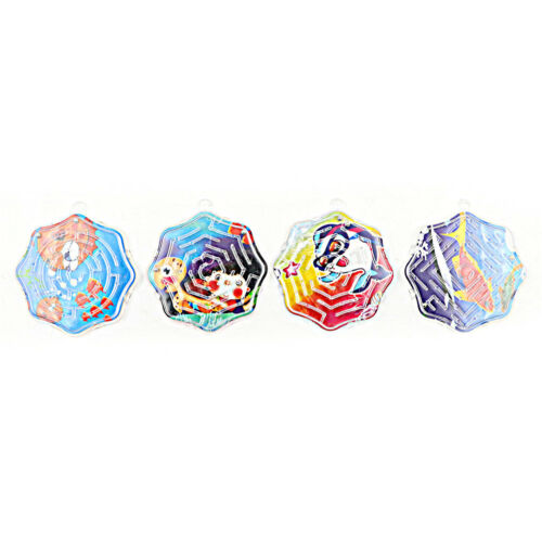 4X 3D Magic Cube Puzzle Speed Cube Puzzle Labyrinth Ball Toy Track Maze Toys/&/&