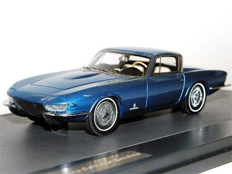 MATRIX SCALE MODELS 1963 délégations Corvette Rondine I bleu metallic 1 43