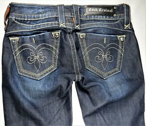 Denim Jeans Studs Dame Stretch Mint Skinny Slim Sz Blå Rock Adele 26 Revival pPOt0x0w