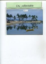 P001 # MALAYSIA PICTURE POST CARD * FISHING VILLAGE