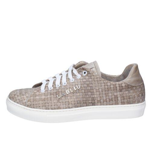 BT651 DABLIU  shoes beige leather men sneakers lace-up spring-summer EU 41,EU 42