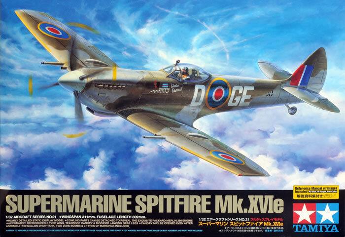 Tamiya 1 32 Supermarine Spitfire Mk.XVIe