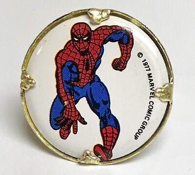 "Vintage 1977 Marvel Comics Bubblegum Machine /""Ghost Rider/"" 1/"" Ring"