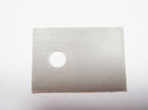 10x Film isolant to220 18x13mm Mica vitre #14k66