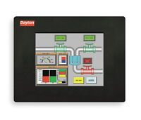 Dayton 8.74w Tft Color Graphical Touch Panel 640x480 Pixels (3fyl9) J42