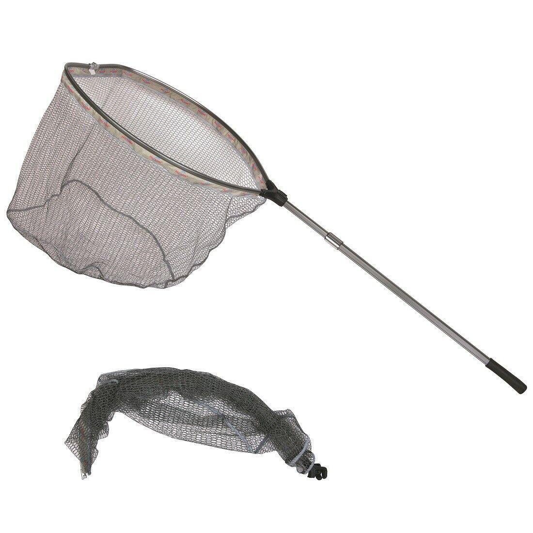 Paladin Pro Hamen Gigant Kescher gummiert gummiert gummiert 250 cm - 2 x 80 Groß-Kescher stabil 32dc21